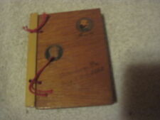 Souvenir July 1, 2, 3, 1863 Gettysburg, Pa (Wood Cover Booklet) Lee& Meade Cover