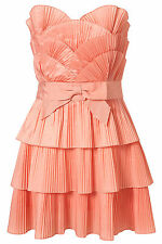 TOPSHOP ruffle scallop dress by dress up SIZE8/16