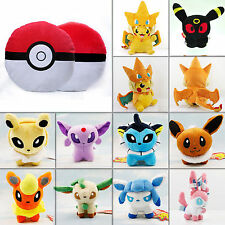 Pokemon Pocket Monster Stuffed Toys Pokedolls Throw Pillow Plush Anime Collect