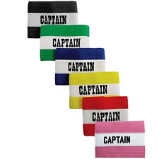 Champro Adult Soccer Captains Arm Band - Black, Red, Yellow or Blue