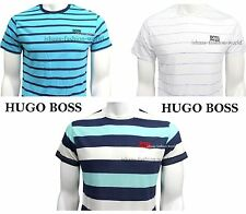 Hugo Boss 100% New Cotton Crew Neck short sleeve Tee T-Shirt NWT Size S-M-L-XL