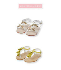 "Janie and Jack girls ""Capri Island"" Collection Sandals U Pick New 8 / 9 / 11"
