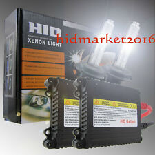 55W HID Xenon Conversion Kit Headlight Bulbs Metal Ballasts H1 H3 H4 H7 H11 9005