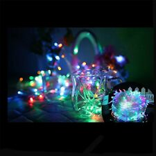 10/20/30M Starry String Fairy Lights 300 LED Wedding Xmas Party Decor Light Lamp