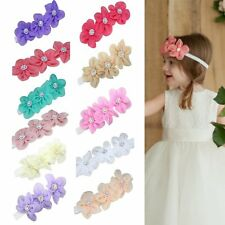 Cute Infant Baby Kids Flower Headband Toddler Girls Child Headwear Hair Band New