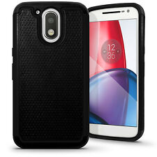 Hard Back Cover & Silicone Gel Case for Motorola Moto G4 Play XT1601 Screen Prot