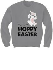 Hoppy Easter - Happy Easter Bunny Children's Cute Kids Sweatshirt Gift Idea