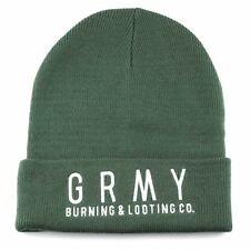 Grimey Core Knit Beanie Men One size Green BNWT