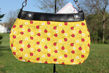 YELLOW LADY BUG SPRING SUMMER *SKIRT ONLY* FOR THE THIRTY ONE BRAND SKIRT PURSE