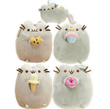 Pusheen The Cat Chocolate Chip Cookie Cute Stuffed Soft Plush Toy 10''