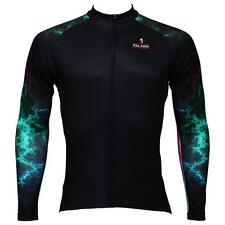 Men Long Sleeve Cycling Jersey Bicycle Bike Sportwear Outdoor Apparel C366e