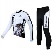 Eagle Men Long Sleeve Cycling Jersey+Pant Bike Bicycle Sportwear Apparel CT03e