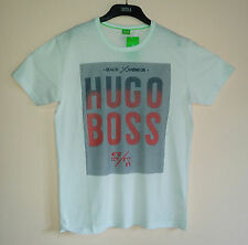 New Hugo Boss Crew Neck Mens Short Sleeve Size S M L XL Tee T Shirt Color White
