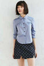 Urban Outfitters Alice & UO Ferielle Button Down Chambray Shirt New With Tags