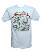 METALLICA - JUSTICE CHROME - Official Licensed T-Shirt - Heavy Metal New M L XL