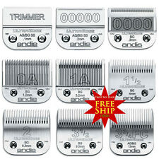 Andis 9pcs UltraEdge + Ultra Edge Surgical Trimmer Detachable Clipper Blades NEW