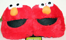 RED SESAME STREET ELMO Muppets plush ADULT Costume Slippers soft shoes S & M NEW