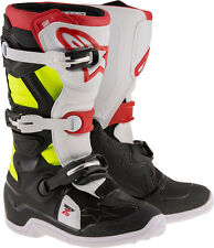 2017 ALPINESTARS TECH 7S YOUTH KIDS MOTOCROSS ENDURO BOOTS BLACK / RED / YELLOW