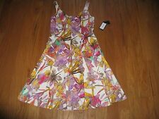 Nine West Floral-Print Fit & Flare Dress for Woman Size 4/ 6 / 8 NWT $79