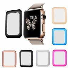 Premium Real Tempered Glass Screen Protector Film Guard for Apple Watch 38/42mm
