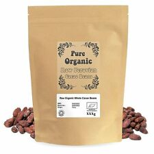 Certified Organic Raw Peruvian Cacao/Cocoa Beans
