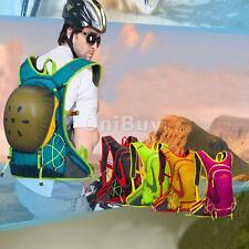18L Outdoor Sport Backpack Hiking Travel Hydration Pack Helmet Water Bladder Bag