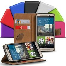 Book Flip for HTC One M8 Mobile Phone Case Flip Cover Wallet Protector Pouch