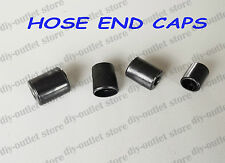 Rubber Hose End Caps Pack Finisher for Steel Braided Hose for 15 - 17mm OD Hose