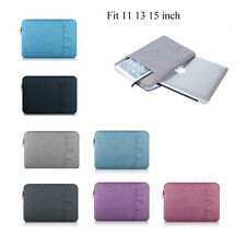 "11"" 13"" 15"" Laptop sleeve carry bag Case pouch for MacBook DELL ACER IBM LENOVO"