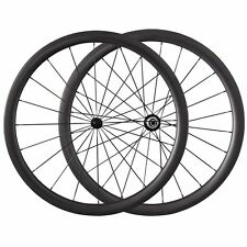 25mm Width 38mm Clincher Carbon Wheels Bicycle Light Road Bike Wheelset