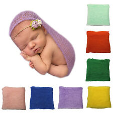 Crochet Knitted Cocoon Baby Photo Accessories Photography Prop Backdrop Glitzy