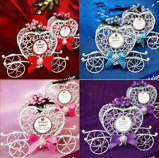 Wedding Candy Birthday Party Favours 1pc New Chocolate Boxes Cinderella Carriage