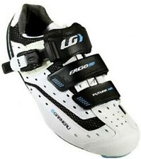 Louis Garneau Womens Futura XR Road Cycling Shoes - White and Black