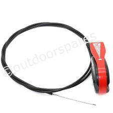 Universal Petrol Lawnmower Throttle Cable 76