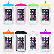 Waterproof mobile phone case Dry Pouch Bag case For camera mp3 wallet 8 colors