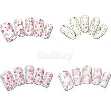 5x4 Charming Girls DIY Nail Art Stickers Transfer Water Decals Nail Wraps