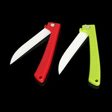 3 Inch Ceramic Paring Knife Fruit Folding Knife Kitchen Gadget Peeler Cutlery