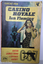 Ian Fleming Casino Royale Paperback Book 1962