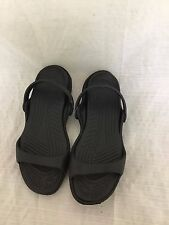 Womens Crocs Cleo Black 3B