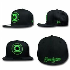 New Era 59fifty 5950 Green Lantern Logo Fitted Cap NWT Limited Edition DC Comics