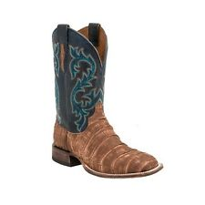 Lucchese M4344 MALCOLM Mens 7.5 D Brandy Giant American Alligator Cowboy Boots