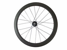 38mm Track Fixed Gear Carbon Wheel Road Bike Racing Wheel 700C Only Single Wheel