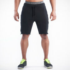 Men Outdoor Fitness Shorts Jogging  Cotton Casual Pants Solid Gym Shorts