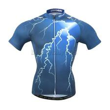 Cycling Team Jersey Men's Short Sleeve Bicycle Bike Racing Shirt Tops