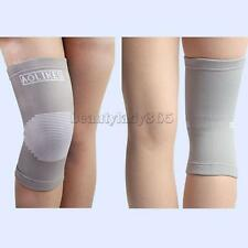Unisex Elastic Leg Knee Support Brace Wrap Protector Guard Volleyball Knee Pad