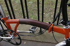 Leather Standard Frame Protector for Brompton Bicycles