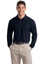 K500LS Port Authority Silk Touch Long Sleeve Pique