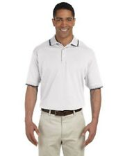 Devon & Jones D140 Tipped Pima Pique Polo