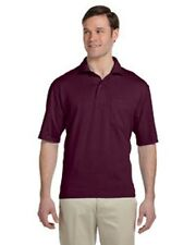 436P Jerzees 5.6 oz., 50/50 Jersey Pocket Polo with SpotShield™