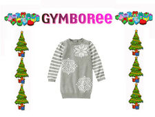 "Gymboree Baby Girl ""Ski Lodge"" Snowflake Sparkle Sweater Dress NWT  2T 3T 4T"